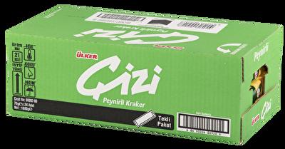 Resim Ülker Çizi Kraker 24'lü 70 g