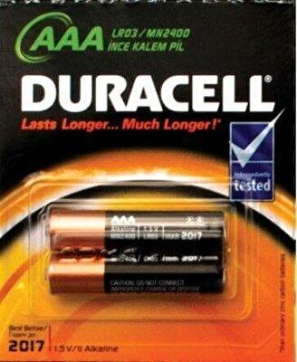 Resim Duracell Alkali Kalem Pil 2'li