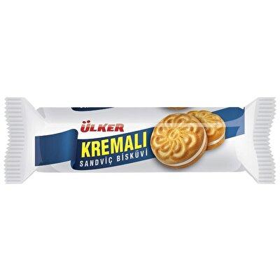 Resim Ülker Kremalı Sandviç Bisküvi 24'lü 61 g