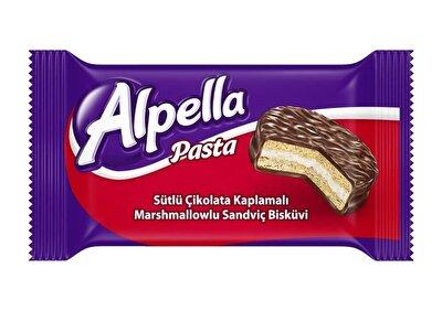 Resim Alpella Sütlü Çikolata Kaplı Sandviç 90'lı 30 g