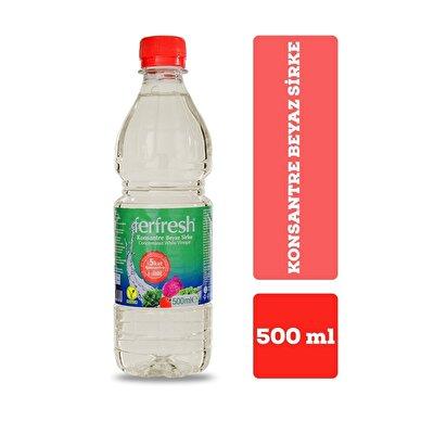 Resim Ferfresh Konsantre Beyaz Sirke Pet 500 ml