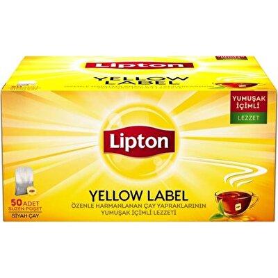 Resim Lipton Yellow Label Bardak Poşet 50*2 g