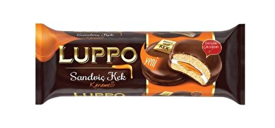 Resim Luppo Sandviç Kek Karamelli 12'li 182 g