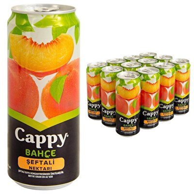 Resim Cappy Meyve Suyu Şeftali Kutu 12'li 330 ml