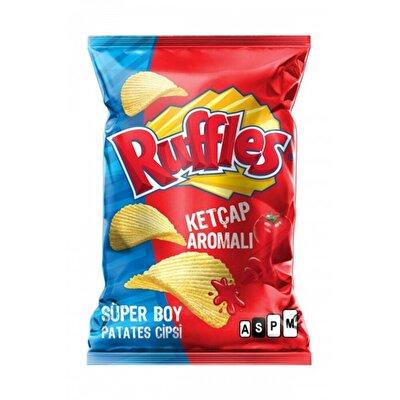 Resim Ruffles Ketçap Çeşnili Patates Cipsi Süper Boy 104 g