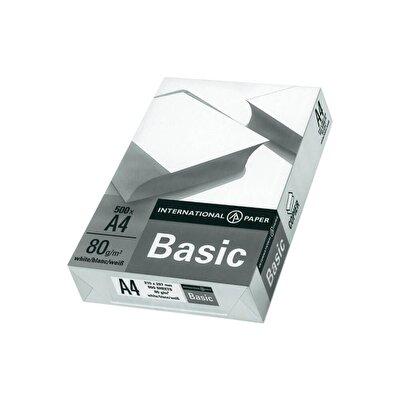 Resim Basic A4 Fotokopi Kağıdı 80 Gr 1 Koli 500 lü