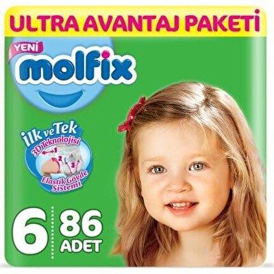 Resim Molfix Ultra Avantaj Paketi X Large 86'lı