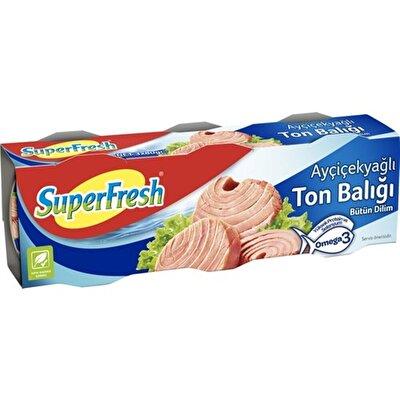Resim Superfresh Ton Balığı Ayçiçek Yağlı 3*75 g