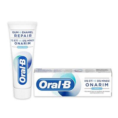 Resim Oral-B Diş Eti VE Diş Minesi Onarım Orijinal 75 ml