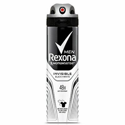 Resim Rexona Deodorant Sprey Men Invisible Black/White 150 ml