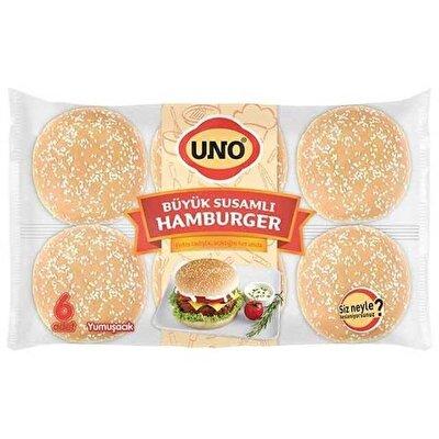 Resim Uno Büyük Susamlı Hamburger 510 g
