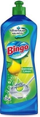 Resim Bingo Dynamıc Bulaşık Deterjanı Limonlu 675 g