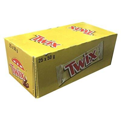 Resim Twix Sütlü Çikolata 25'li 50 g