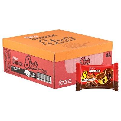 Resim Ülker Dankek 8Kek Duble Çikolatalı 24'lü 55 g