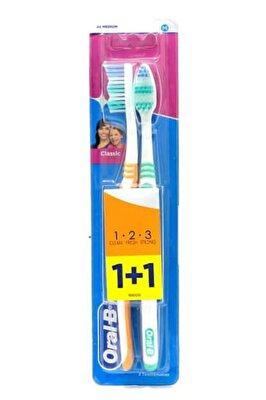 Resim Oral-B Diş Fırçası Clean Fresh 1+1 1+1 adet