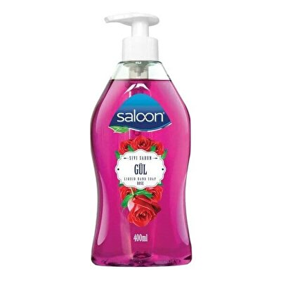 Resim Saloon Sıvı Sabun Gül 400 ml