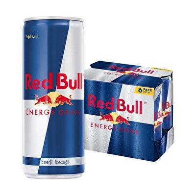 Resim Red Bull Enerji İçeceği M.P. 6*250 ml