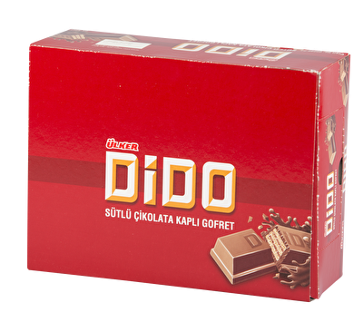 Resim Ülker Dido Çikolata Kaplamalı Gofret 24'lü 35 g