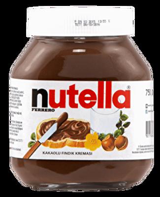 Resim Kinder Nutella Kakaolu Fındık Kreması 750 g