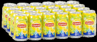 Resim Lipton Ice Tea Limon Aromalı 24'lü 330 ml