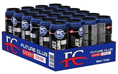 Resim Fc Black Enerji İçeceği 24'lü 500 ml