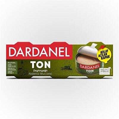 Resim Dardanel Zeytinyağlı Ton Balığı 3X75 g