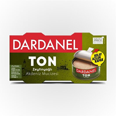 Resim Dardanel Zeytinyağlı Ton Balığı 2X150 g