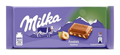 Resim Milka Çikolata Fındıklı Sütlü 80 g