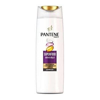 Resim Pantene Superfood Gür ve Güçlü Şampuan 470 ml