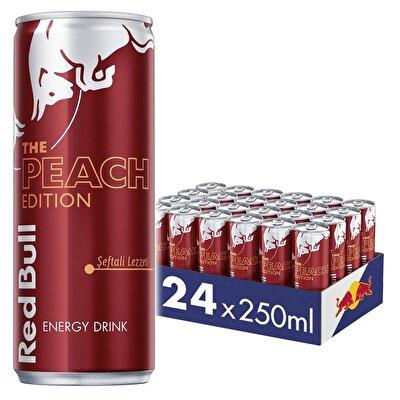 Resim Red Bull Enerji İçeceği Şeftali Edition 24'lü 250 ml
