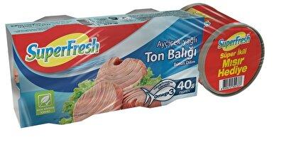 Resim Superfresh Ton Balığı 185 Gr Mısır Hediyeli 2*150 g