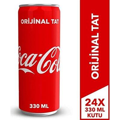 Resim Coca Cola Kutu  24'lü 330 ml