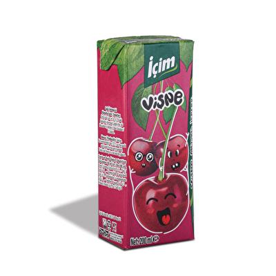 Resim İçim Meyveli İçecek Vişne 27'li 200 ml