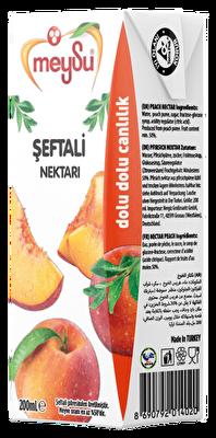 Resim Meysu Meyve Nektarı Şeftali 27'li 200 ml