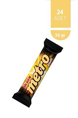 Resim Ülker Metro Çikolata 24'lü 36 g