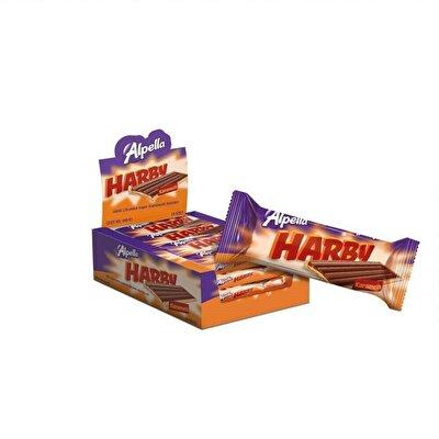 Resim Alpella Harby Karamelli Bisküvi 24'lü 25 g