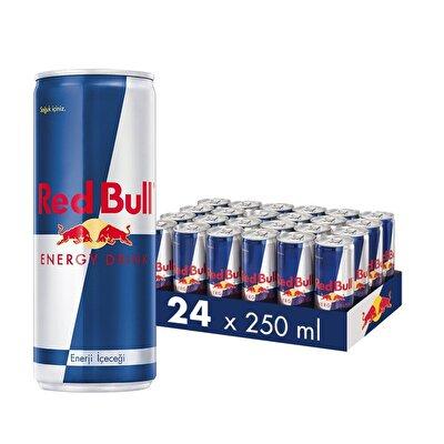 Resim Red Bull Enerji İçeceği 24'lü 250 ml