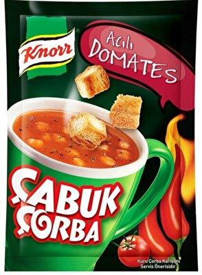 Resim Knorr Çabuk Çorba Acılı Domates 22 g