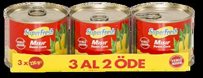 Resim Superfresh Mısır 3*220 g