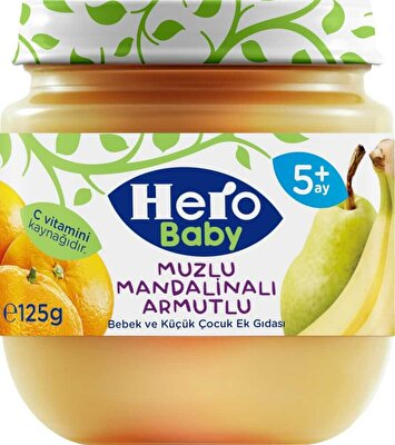 Resim Ülker Hero Baby Muz Mandalina Armut 125 g