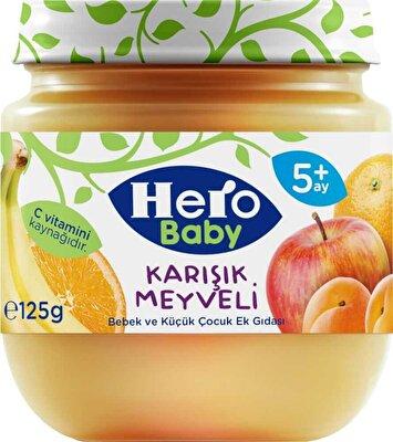 Resim Ülker Hero Baby Karışık Meyveli 125 g