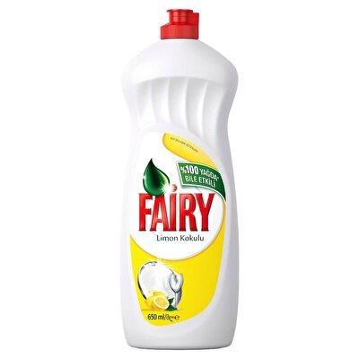 Resim Fairy Bulaşik Deterjani Limon 650 ml