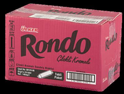 Resim Ülker Rondo Çilek Aromalı Bisküvi24'lü 61 g