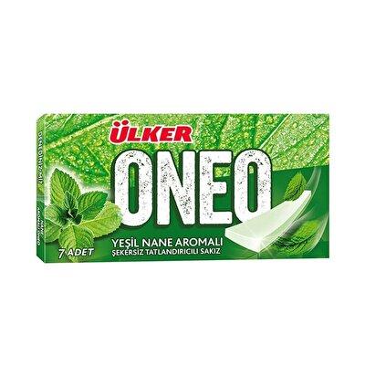 Resim Ülker Oneo Slims Yeşil Naneli Sakız 27'li 14 g
