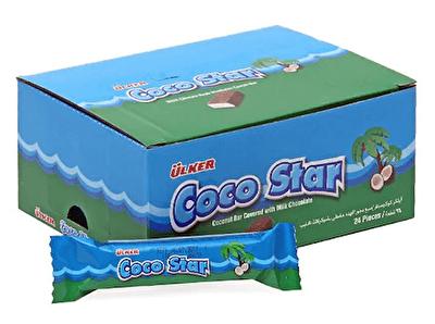 Resim Ülker Cocostar Çikolata 24'lü 25 g