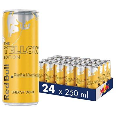 Resim Red Bull Enerji İçeceği Tropikal Meyve 24'lü 250 ml