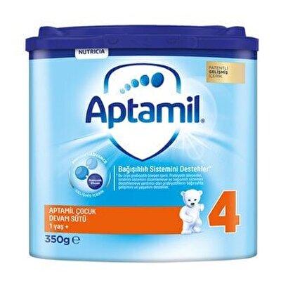 Resim Aptamil (4) Çocuk Devam Sütü 1 Yaş + Akıllı Kutu 350 g