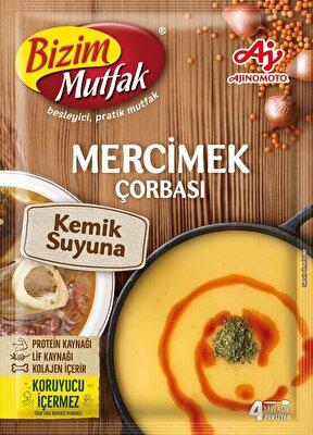 Resim Bizim Mutfak Kemik Sulu Mercimek Çorbası 72 g