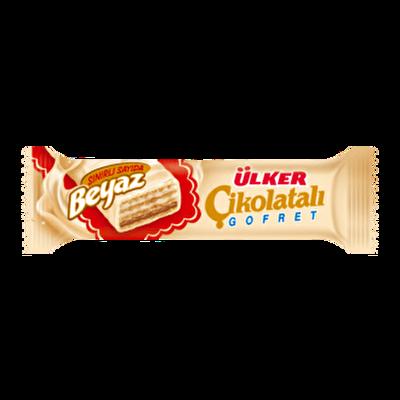 Resim Ülker Çikolatalı Gofret Beyaz 36'lı 35 g