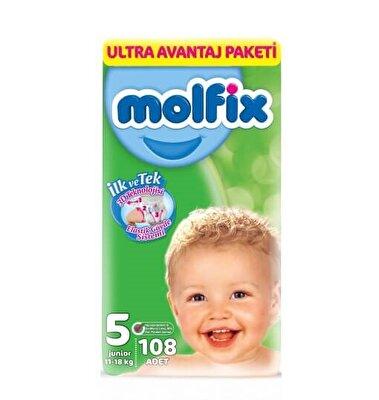Resim Molfix Ultra Avantaj Paketi Junior 108'li